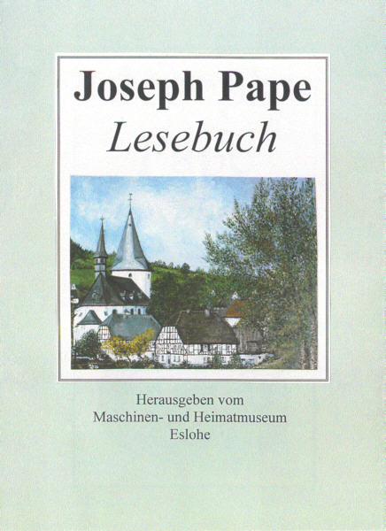 Lesebuch Autor(in): Pape, Josef